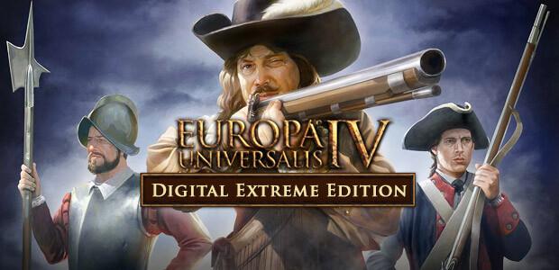 Europa Universalis IV: Digital Extreme Edition - Cover / Packshot