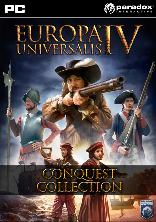 Europa Universalis IV: Conquest Collection - Cover