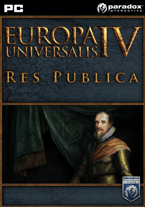 Europa Universalis IV: Res Publica - Cover / Packshot
