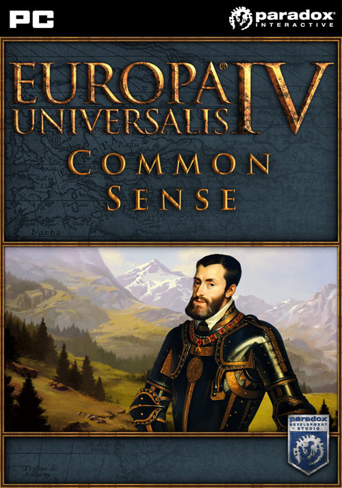 Europa Universalis IV: Common Sense - Cover / Packshot