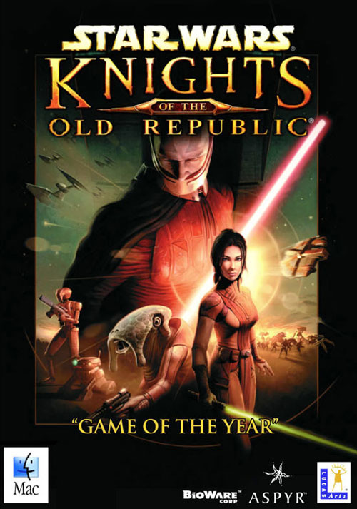 Star Wars: Knights of the Old Republic (Mac) - Cover