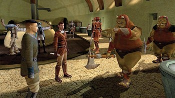 Screenshot4 - Star Wars: Knights of the Old Republic (Mac)