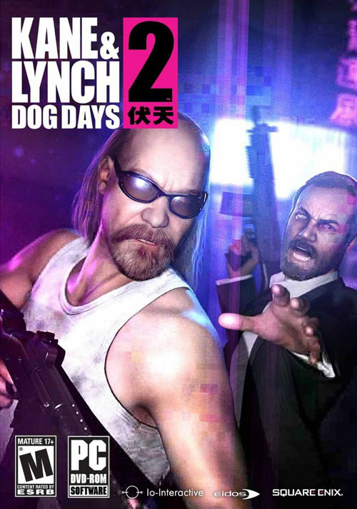 Kane and Lynch 2: Dog Days - Cover / Packshot
