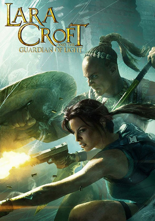 Lara Croft and the Guardian of Light - Cover