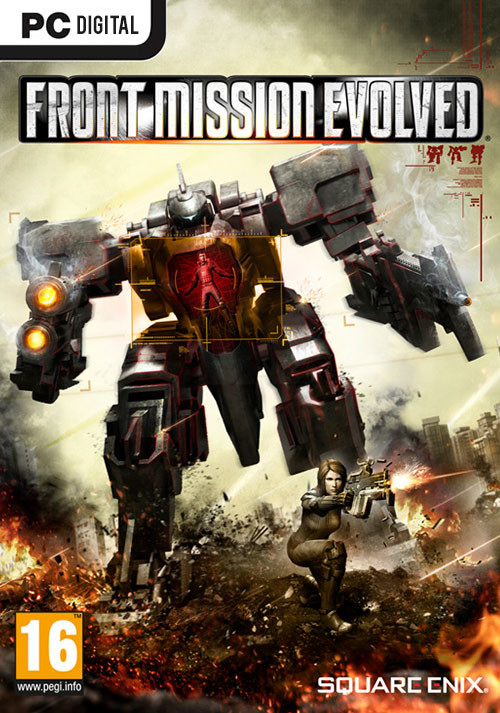 Front Mission Evolved - Cover