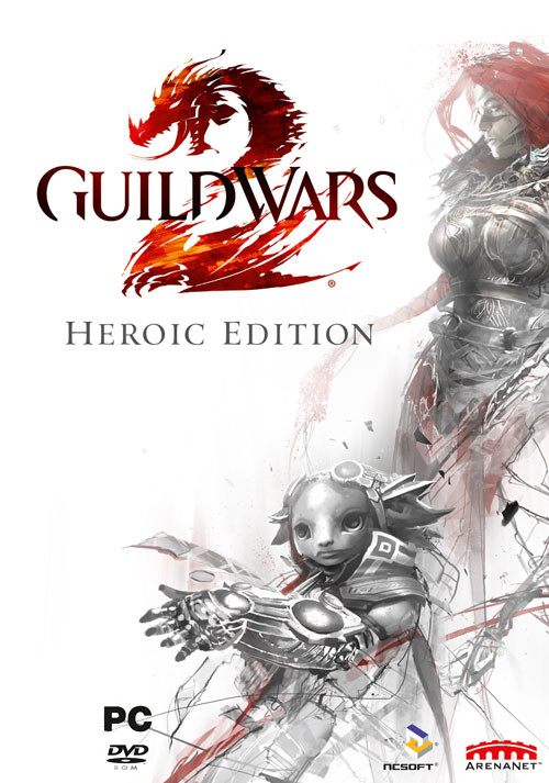 Guild Wars 2 - Heroic Edition - Packshot