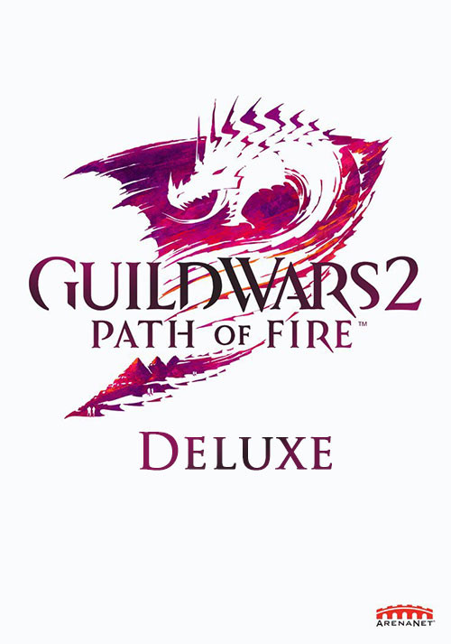 Guild Wars 2: Path of Fire - Deluxe - Packshot