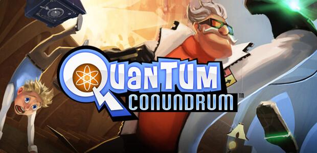 Quantum Conundrum - Cover / Packshot