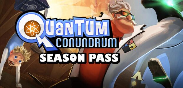 Quantum Conundrum: Season Pass - Cover / Packshot