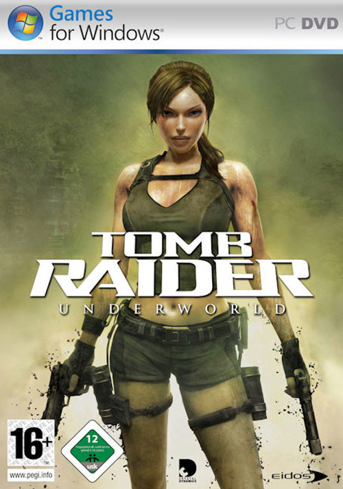 Tomb Raider Underworld - Cover
