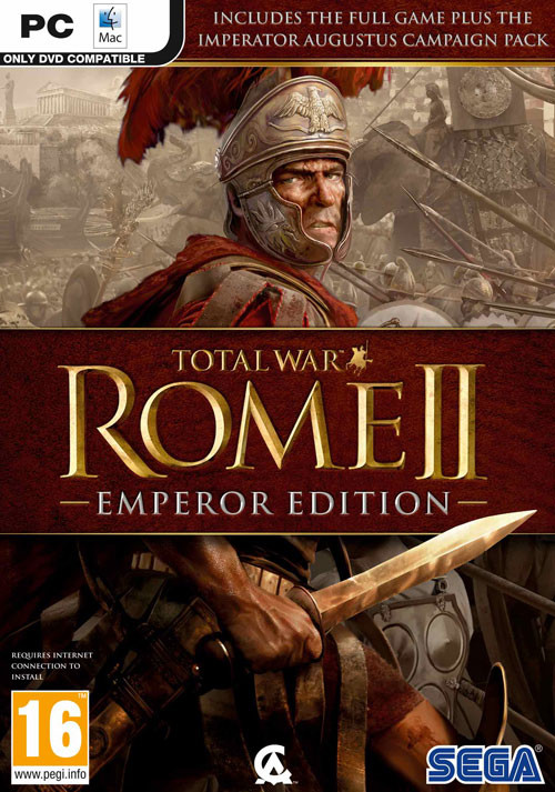 Total War: ROME II - Emperor Edition - Cover / Packshot