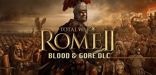 Total War: ROME II - Blood & Gore - Cover / Packshot