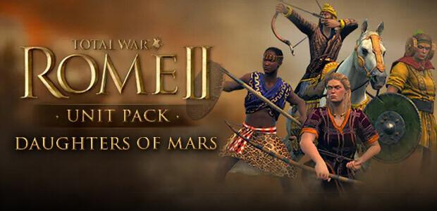 Total War: ROME II - Daughters of Mars Unit Pack - Cover / Packshot