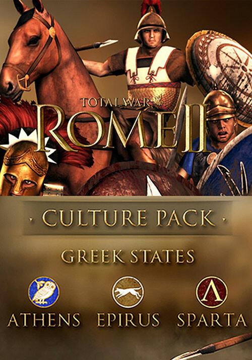 Total War: Rome II - Greek States DLC - Packshot
