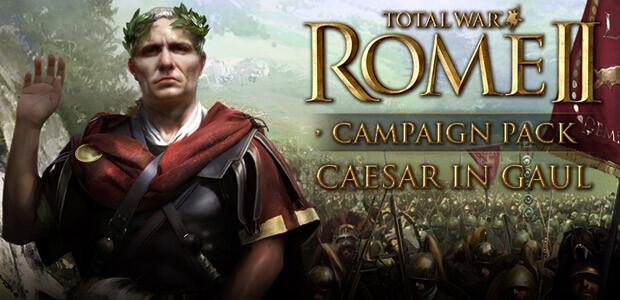 Total War: ROME II - Caesar in Gaul - Campaign Pack - Cover / Packshot