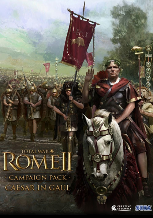 Total War: ROME II - Caesar in Gaul - Campaign Pack - Cover / Packshot
