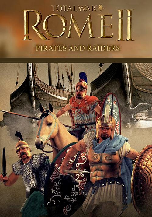 Total War: ROME II - Pirates and Raiders Culture Pack  - Cover / Packshot