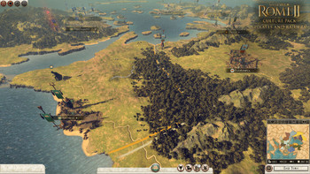 Screenshot1 - Total War: ROME II - Pirates and Raiders Culture Pack