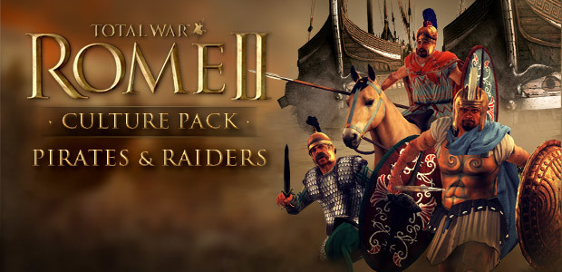 Total War: ROME II - Pirates and Raiders Culture Pack  - Cover / Packshot