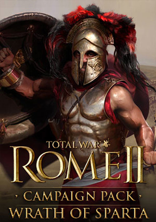Total War: ROME II - Wrath of Sparta Campaign Pack - Cover