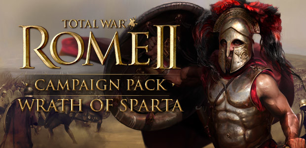 Total War: ROME II - Wrath of Sparta Campaign Pack - Cover / Packshot