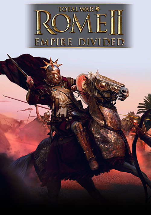 Total War: ROME II - Empire Divided - Cover