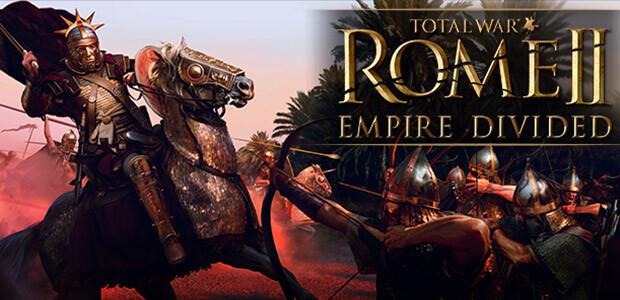 Total War: ROME II - Empire Divided - Cover / Packshot