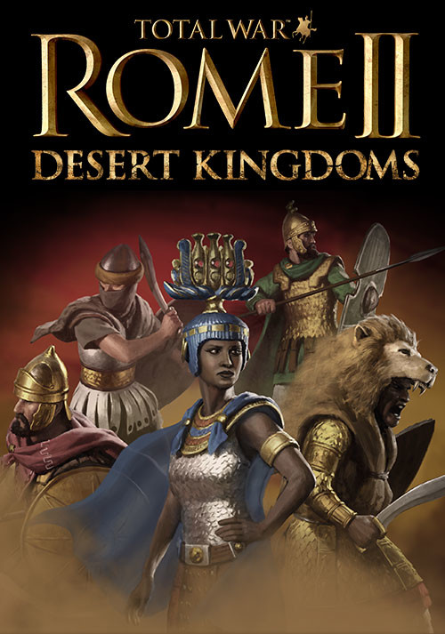 Total War: Rome II - Desert Kingdoms - Packshot