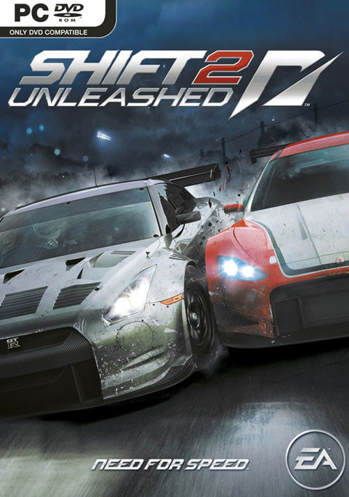 Need For Speed Shift 2: Unleashed - Cover