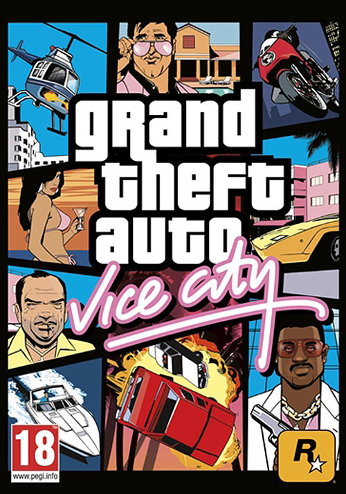 Grand Theft Auto: Vice City - Packshot