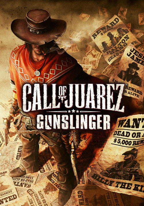 Call of Juarez: Gunslinger - Cover / Packshot