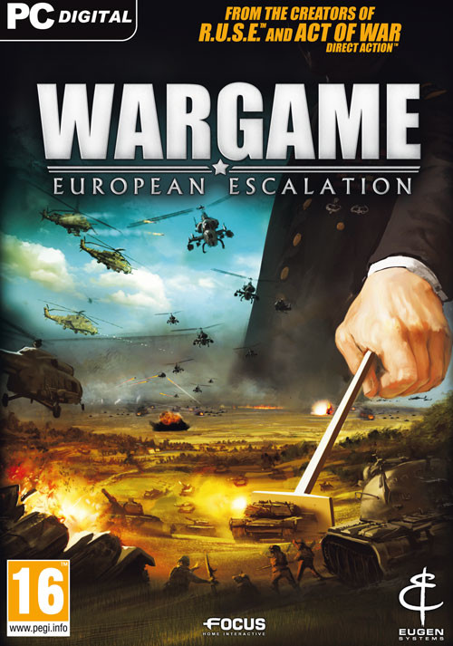 Wargame: European Escalation - Cover / Packshot