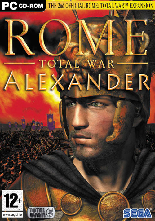 Rome: Total War - Alexander - Cover / Packshot