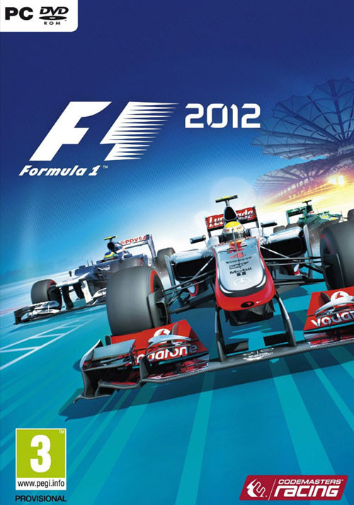 F1 2012 - Cover