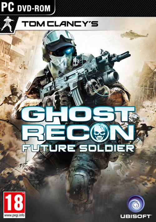 Tom Clancy's Ghost Recon: Future Soldier - Cover