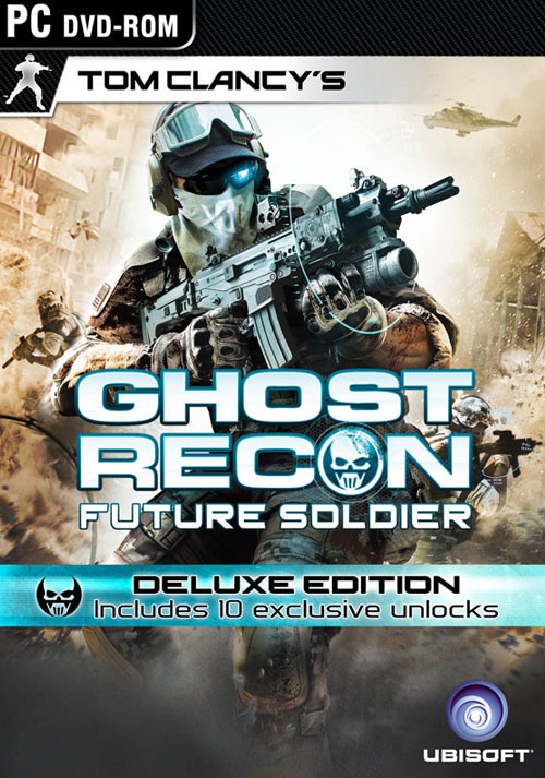 Tom Clancy's Ghost Recon: Future Soldier - Deluxe Edition - Cover / Packshot