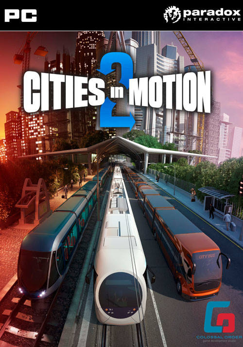 Cities in Motion II - Cover / Packshot