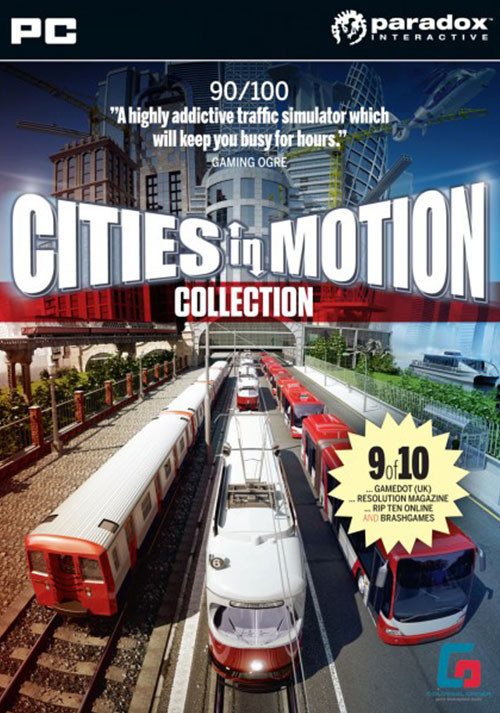 Cities in Motion Collection - Cover / Packshot