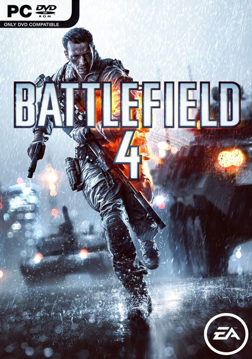 Battlefield 4 - Cover / Packshot