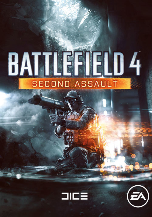 Battlefield 4: Second Assault DLC - Cover / Packshot