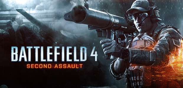 Battlefield 4: Second Assault DLC - Cover / Packshot