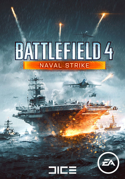 Battlefield 4: Naval Strike - Cover / Packshot