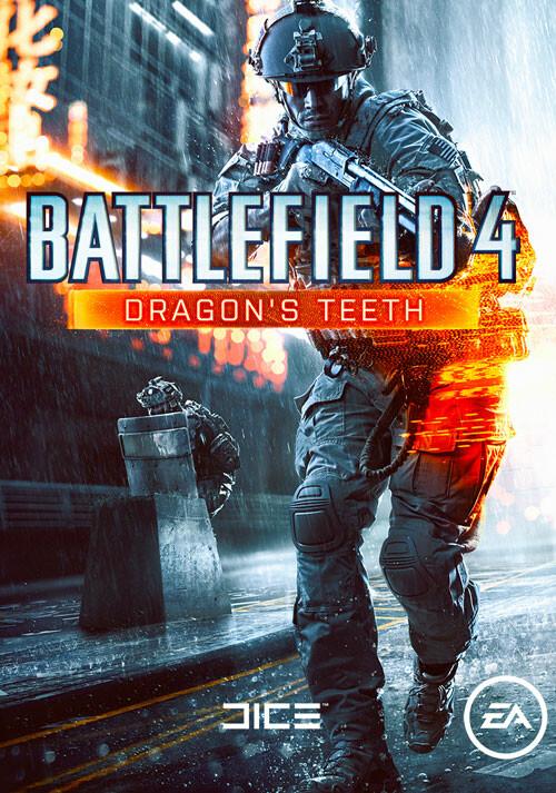 Battlefield 4: Dragon's Teeth - Cover / Packshot