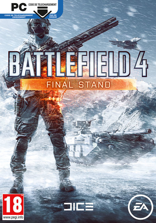 Battlefield 4: Final Stand - Cover / Packshot