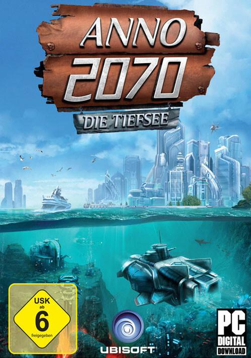 Anno 2070: Die Tiefsee - Cover