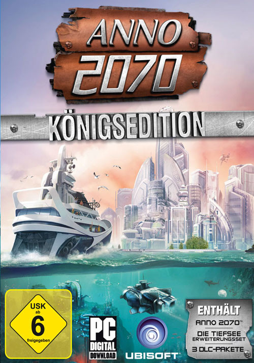 Anno 2070 Königsedition - Cover