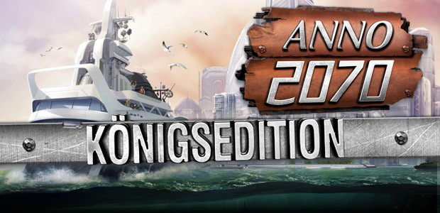Anno 2070 Königsedition - Cover / Packshot