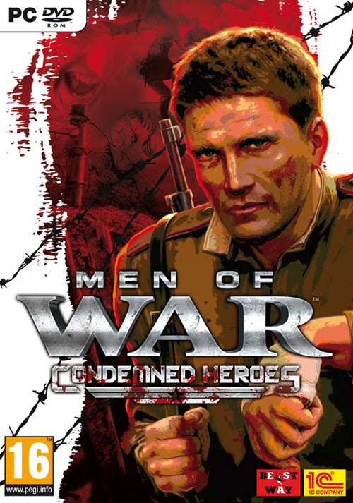 Men of War: Condemned Heroes - Cover