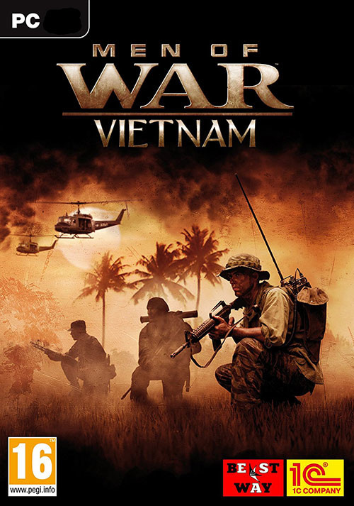 Men Of War - Vietnam - Cover