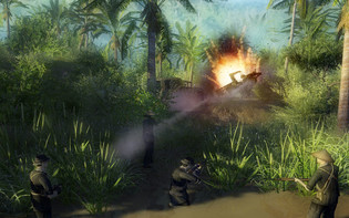 Screenshot5 - Men Of War - Vietnam